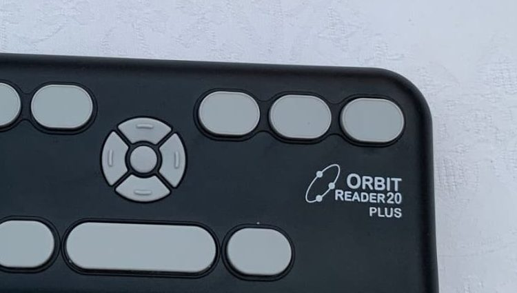 Photo of Orbit Reader 20 Plus device