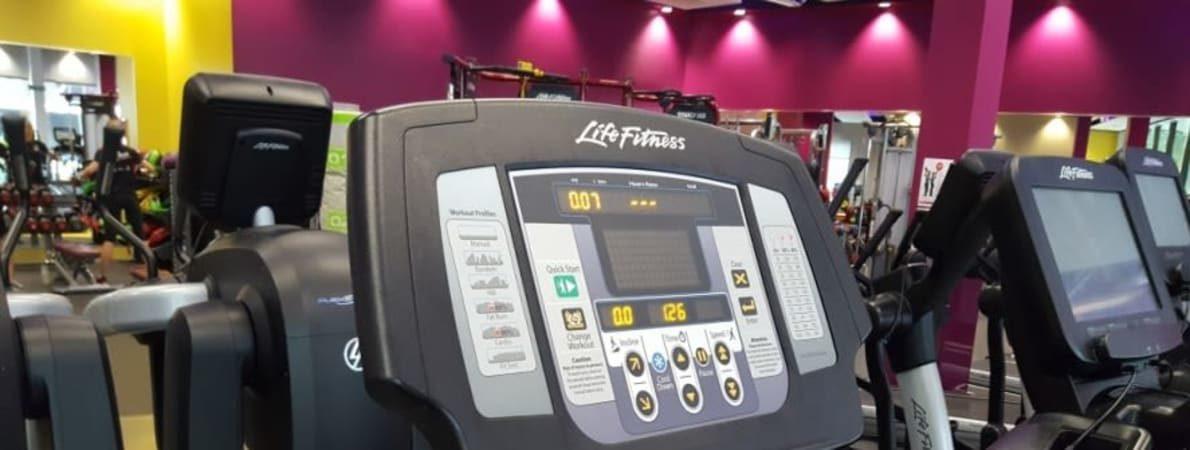 Photo of running machine.