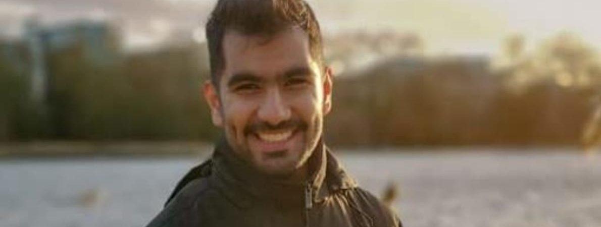 Ali smiling
