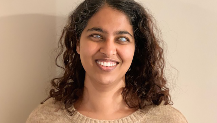 Close up head and shoulders photo of Masuma Ali